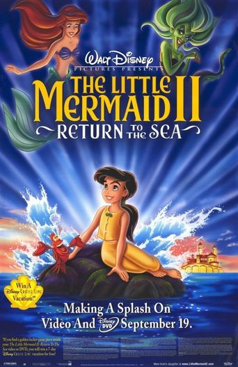 The Little Mermaid II: Return to the Sea Poster