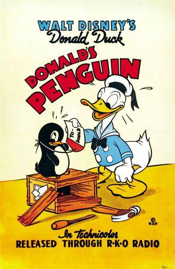 Donald's Penguin Poster