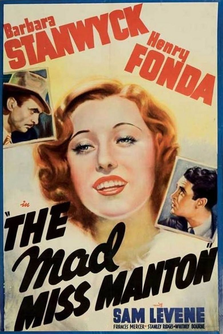 The Mad Miss Manton Poster