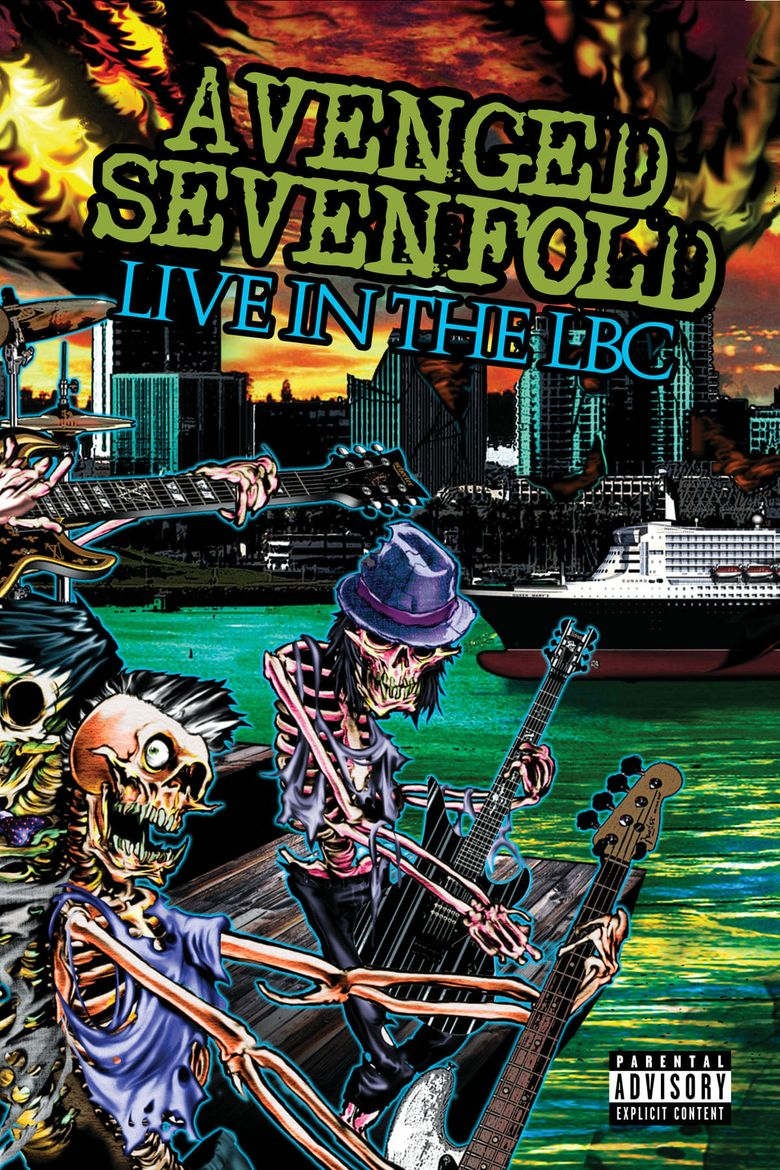 Avenged Sevenfold: Live in the LBC & Diamonds in the Rough Poster
