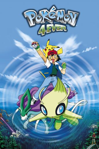 Pokémon 4Ever: Celebi - Voice of the Forest Poster