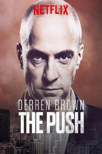 Derren Brown: The Push Poster