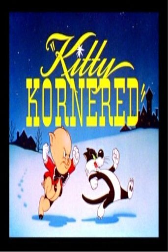 Kitty Kornered Poster