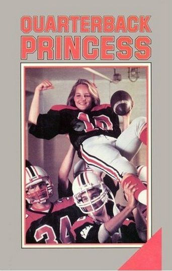 Quarterback Princess Poster
