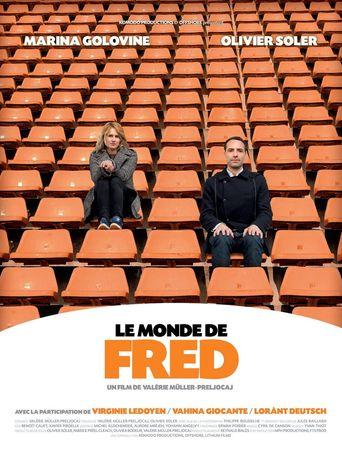 Le monde de Fred Poster
