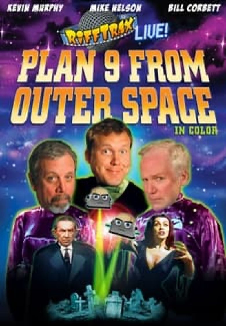 Rifftrax Live: Plan 9 From Outer Space Poster