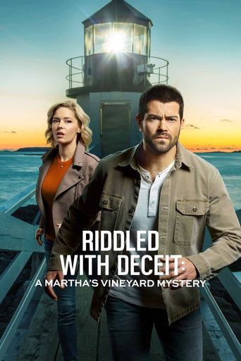 Riddled with Deceit: A Martha's Vineyard Mystery Poster