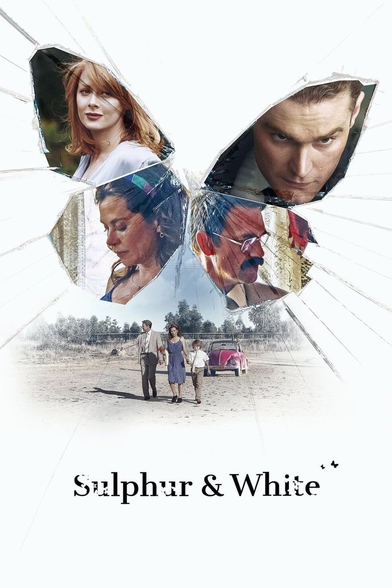 Sulphur and White Poster