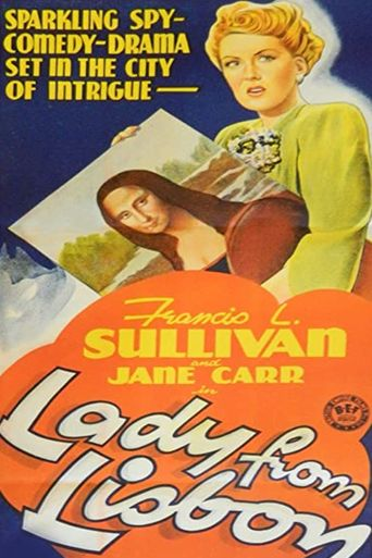 The Lady from Lisbon Poster