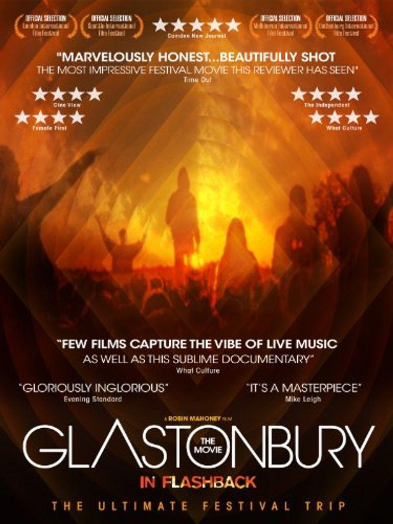 Glastonbury the Movie in Flashback Poster