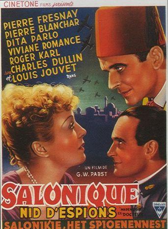 Salonique, nid d'espions Poster