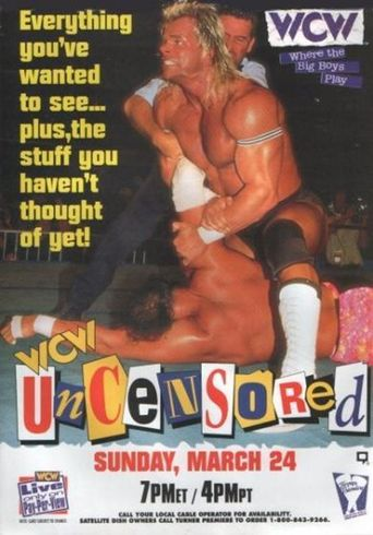 WCW Uncensored 1996 Poster