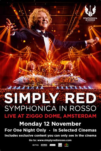 Simply Red Symphonica In Rosso Poster