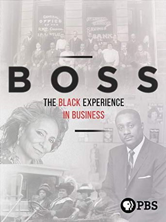 BOSS: The Black Experience in Business Poster