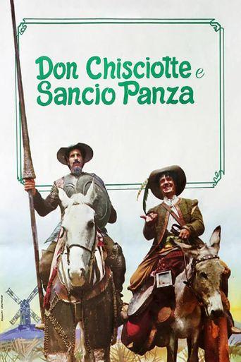 Don Chisciotte e Sancio Panza Poster