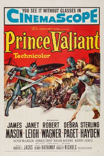Prince Valiant Poster