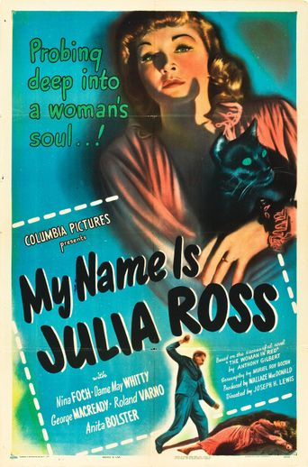 My Name Is Julia Ross Poster