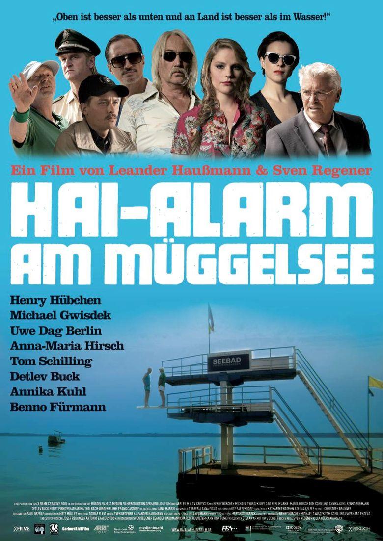 Shark Alarm at Müggel Lake Poster