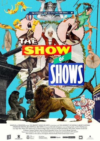 The Show of Shows: 100 Years of Vaudeville, Circuses and Carnivals Poster