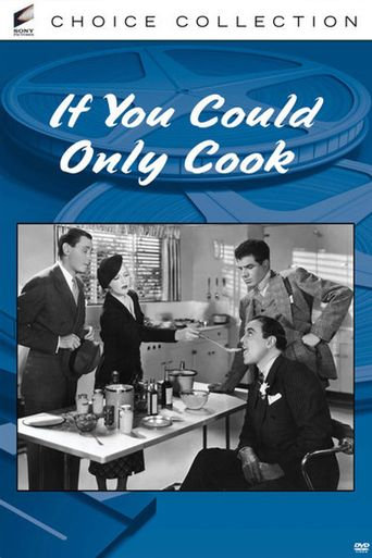 If You Could Only Cook Poster