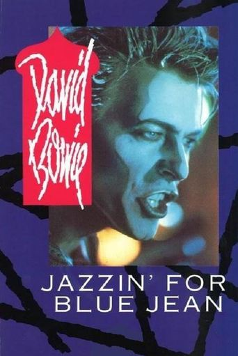 David Bowie - Jazzin' For Blue Jean Poster