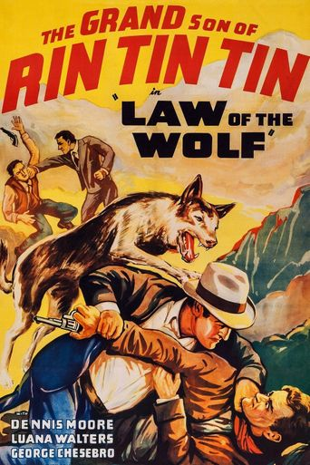 Law of the Wolf Poster