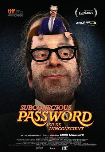 Subconscious Password Poster