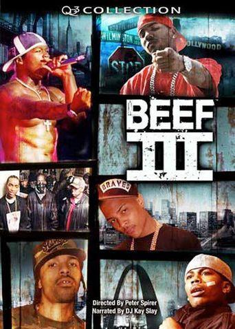 Beef III Poster