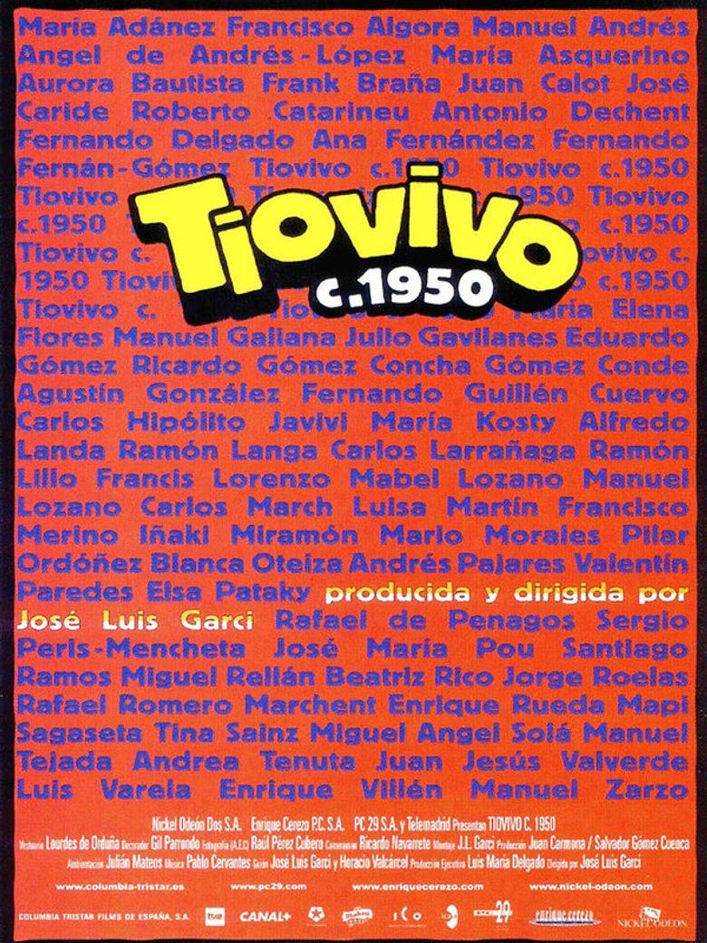 Tiovivo c. 1950 Poster