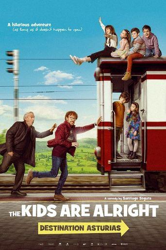 ¡A todo tren! Destino Asturias Poster