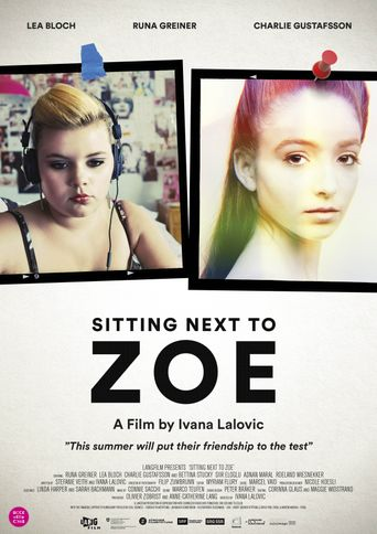 Sitting Next to Zoe Poster