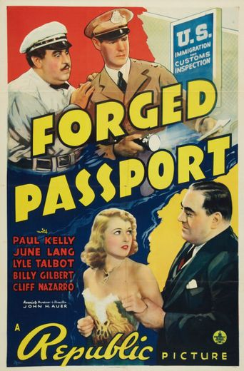 Forged Passport Poster