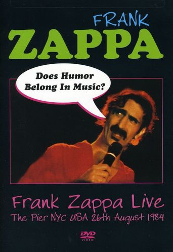 Frank Zappa: Does Humor Belong in Music? Poster