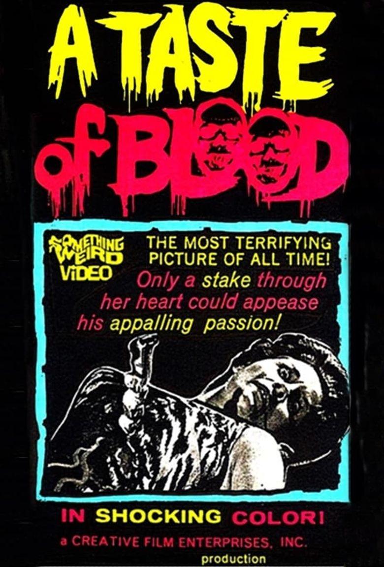 A Taste of Blood Poster