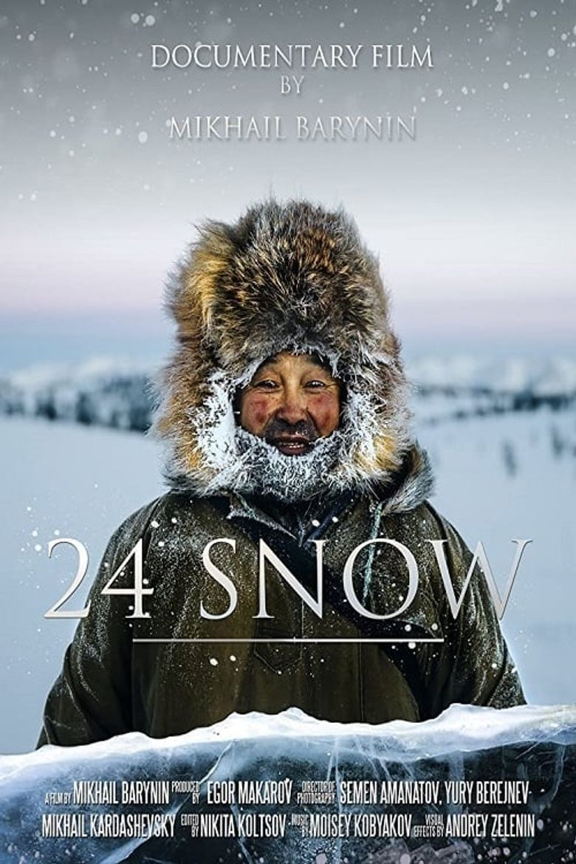 24 Snow Poster