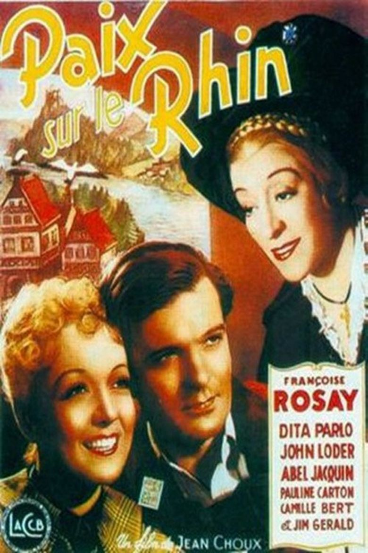 Paix sur le Rhin Poster
