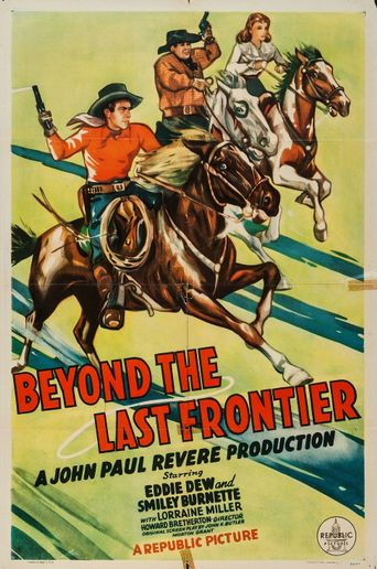 Beyond the Last Frontier Poster