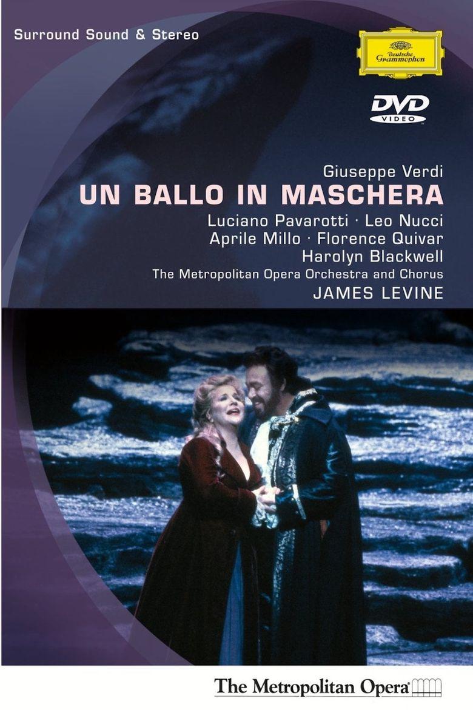 Un Ballo In Maschera Poster