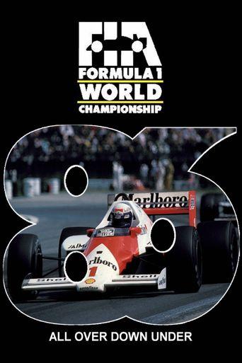 1986 FIA Formula One World Championship Season Review Poster