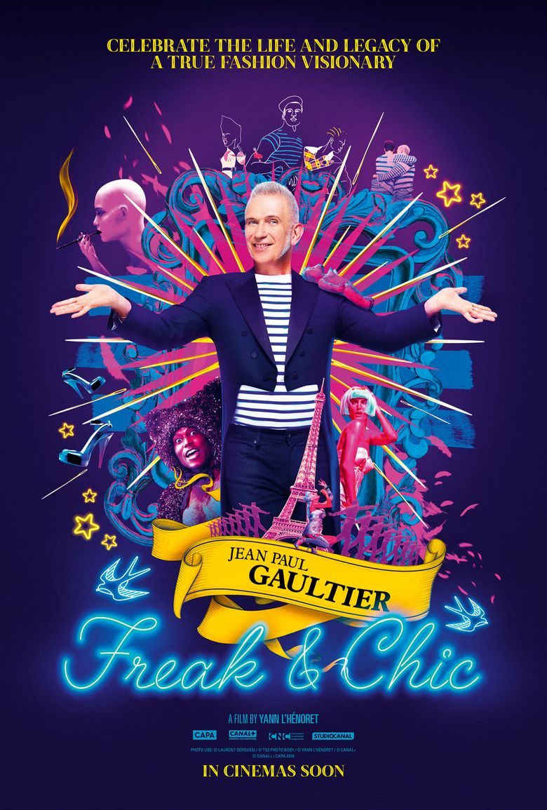 Jean-Paul Gaultier: Freak and Chic Poster