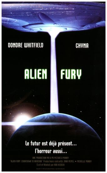Alien Fury: Countdown to Invasion Poster