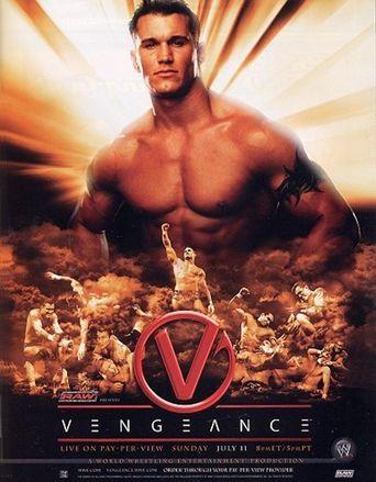 WWE Vengeance 2004 Poster