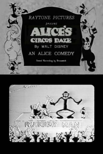 Alice's Circus Daze Poster
