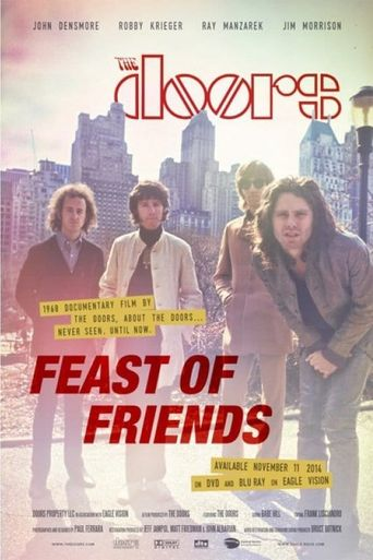 The Doors - Feast Of Friends Poster