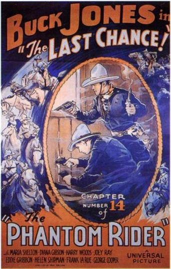 The Phantom Rider Poster