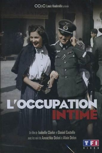 L'occupation intime Poster