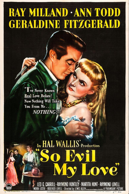 So Evil My Love Poster
