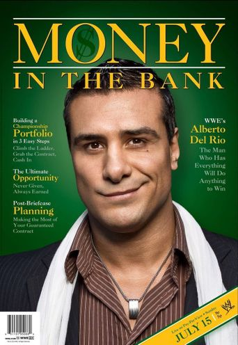 WWE Money In The Bank 2012 Poster