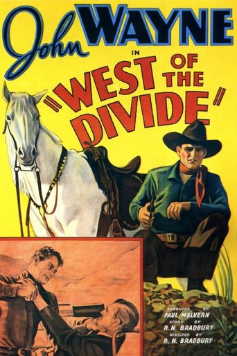 West of the Divide Poster
