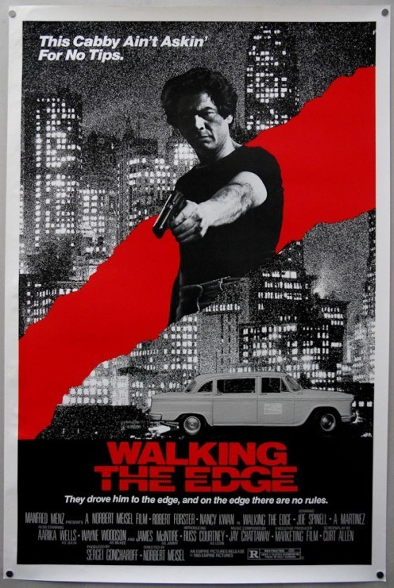 Walking The Edge Poster